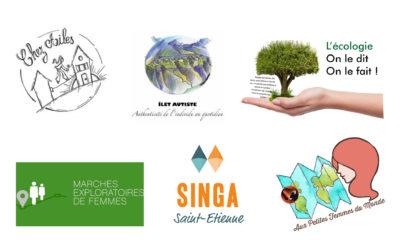 Les associations accompagnées par le Crefad Loire en 2019