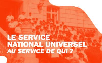 Service National Universel  au service de qui ?
