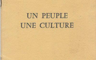 Confinéducation populaire 1 : Manifeste de Peuple et Culture 1945