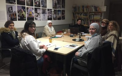 Sofiya Tsisar accompagne les femmes dans leurs projets et leurs autonomies